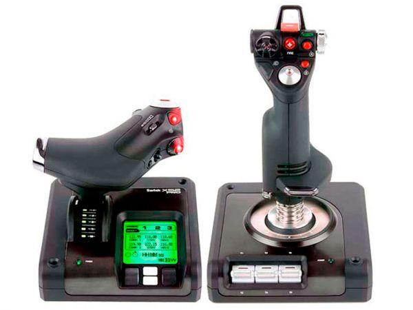Авиасимулятор SAITEK X52 Pro Flight H.O.T.A.S. Control System