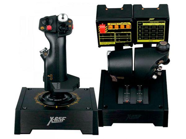 Авиасимулятор SAITEK Pro Flight X65 Combat H.O.T.A.S. Control System