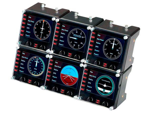 Панель управления SAITEK Pro Flight Instrument Panel