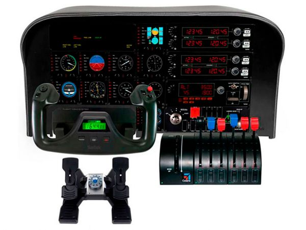 Контроллер SAITEK Pro Flight Throttle Quadrant