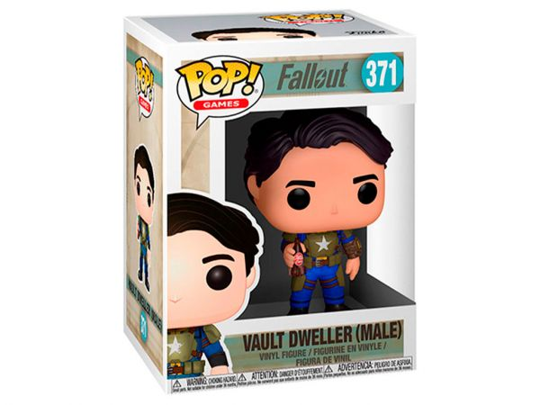 Фигурка FUNKO POP! Games: Fallout - Vault Dweller Male (Мужчина)