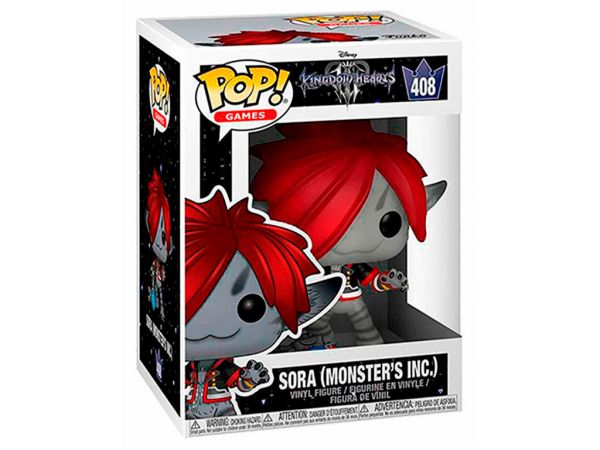 Фигурка FUNKO POP! Games: Kingdom Hearts III - Sora Monster's Inc. (Сора)
