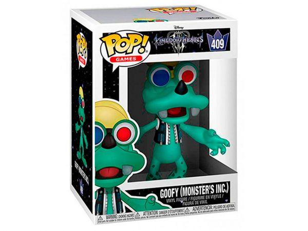 Фигурка FUNKO POP! Games: Kingdom Hearts III - Goofy Monster's Inc. (Гуфи)