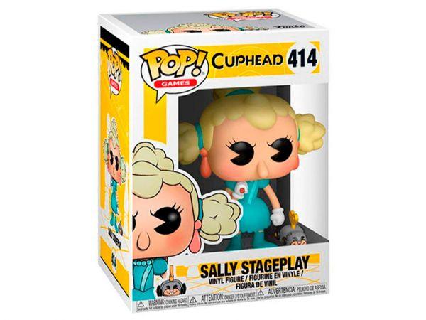 Фигурка FUNKO POP! Games: Cuphead - Sally Stageplay (Салли Стейджплей)