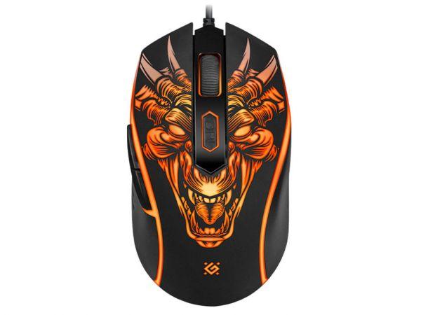 Мышь игровая DEFENDER Monstro GM-510L