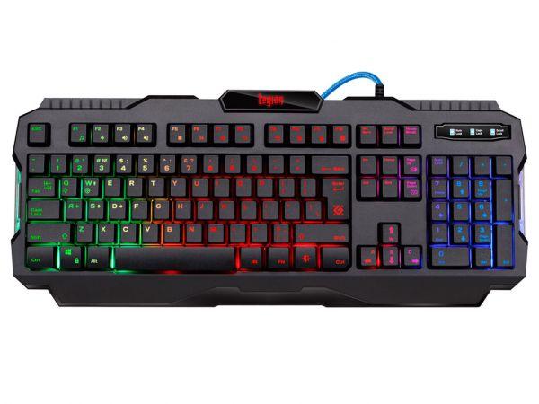 Клавиатура игровая DEFENDER Legion GK-010DL