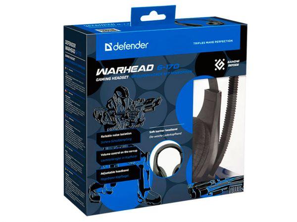 Гарнитура игровая DEFENDER Warhead G-170