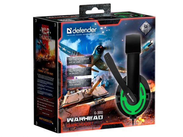 Гарнитура игровая DEFENDER Warhead G-300