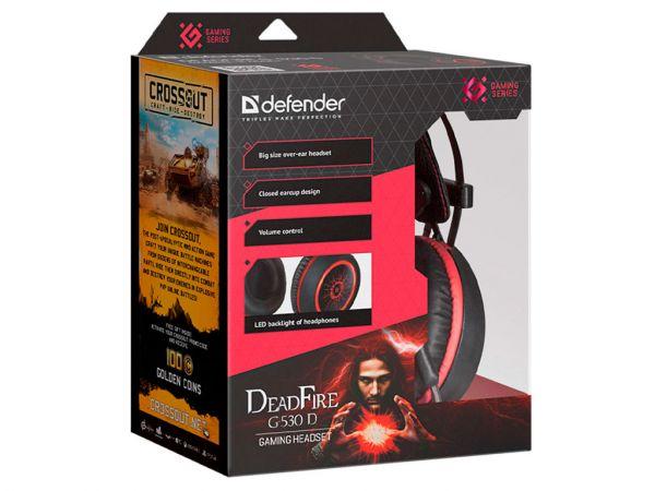 Гарнитура игровая DEFENDER DeadFire G-530D