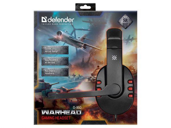 Гарнитура игровая DEFENDER Warhead G-160