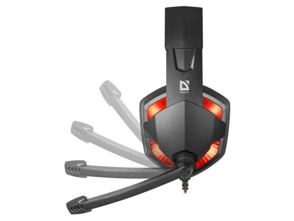 Гарнитура игровая DEFENDER Warhead G-370