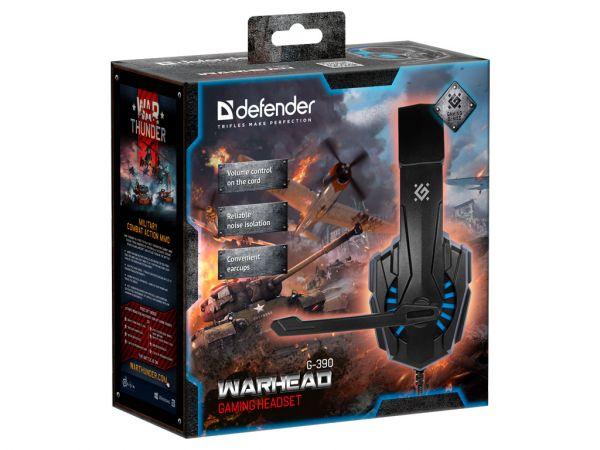 Гарнитура игровая DEFENDER Warhead G-390