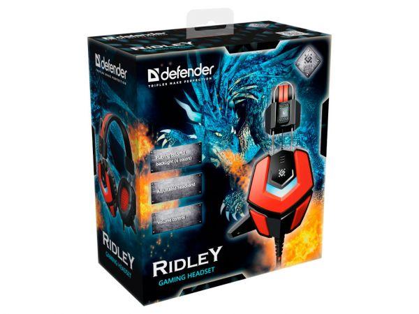 Гарнитура игровая DEFENDER Ridley