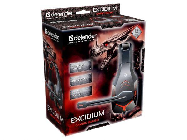 Гарнитура игровая DEFENDER Excidium