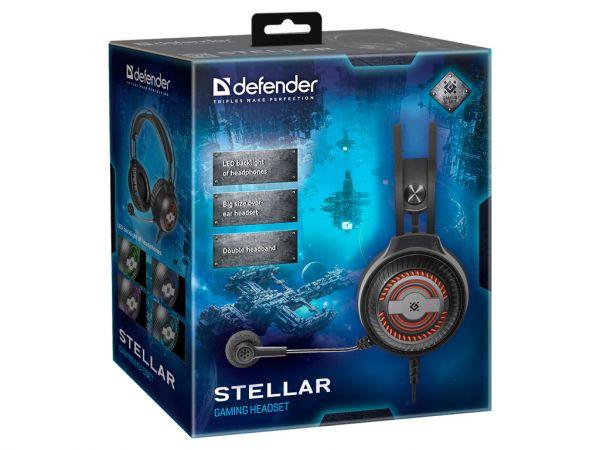 Гарнитура игровая DEFENDER Stellar