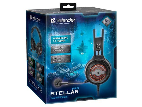 Гарнитура игровая DEFENDER Stellar Pro