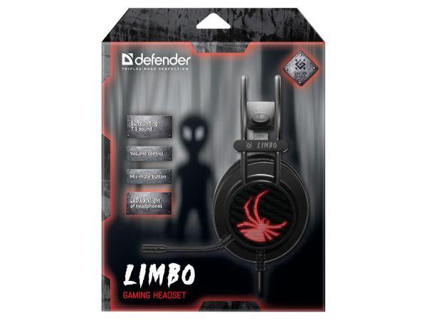 Гарнитура игровая DEFENDER Limbo