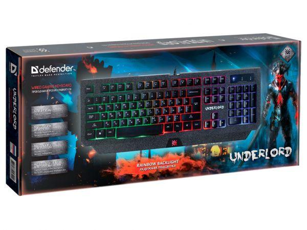 Клавиатура игровая DEFENDER Underlord GK-340L