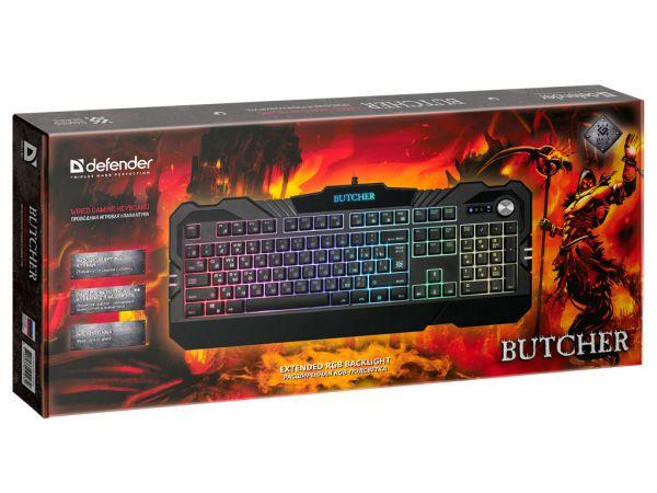 Клавиатура игровая DEFENDER Butcher GK-193DL
