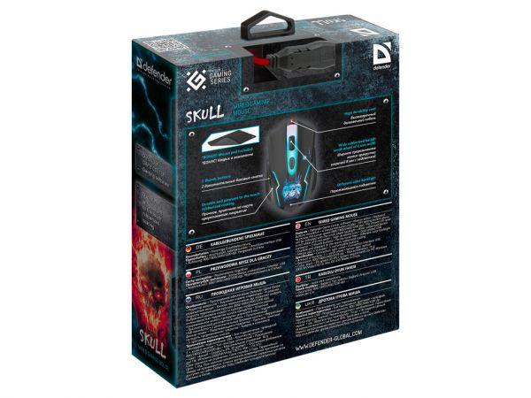 Мышь игровая DEFENDER Skull GM-180L