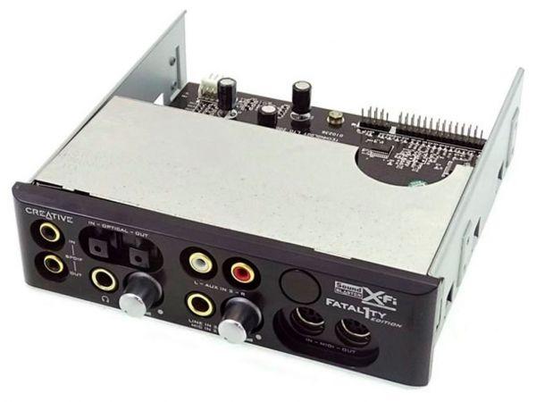 Звуковая карта 7.1 с внешним блоком CREATIVE Sound Blaster X-Fi Platinum