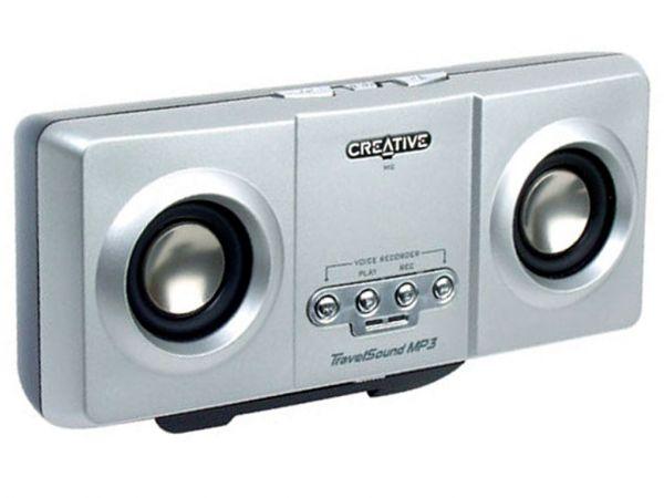 Портативная акустическая система + MP3 плеер CREATIVE TravelSound, 128MB
