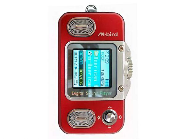 Плеер MP3 + диктофон M-BIRD XY-22, 512MB
