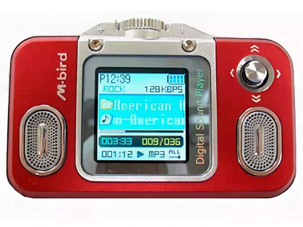 Плеер MP3 + диктофон M-BIRD XY-22, 1024MB